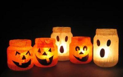 Decorare casa per Halloween con quello che c'è!