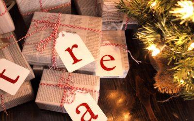 5 idee per incartare i regali di Natale in modo ecologico